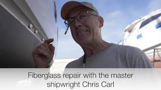 Expert Fiberglass Keel repair