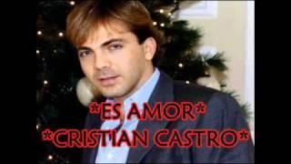 Es Amor - Cristian Castro & Yanni Voces ★Exclusivo 2010★