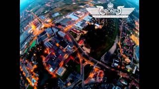 2014-09-15 BROWARY Tyskie Stare Tychy - Kompania Piwowarska - widok z lotu ptaka zmierzch HD