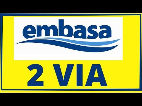 EMBASA SEGUNDA VIA: Como consultar 2 via embasa