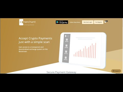 ACCEPT CRYPTO PAYMENTS WITH K MERCHANT'S PLATFORM
