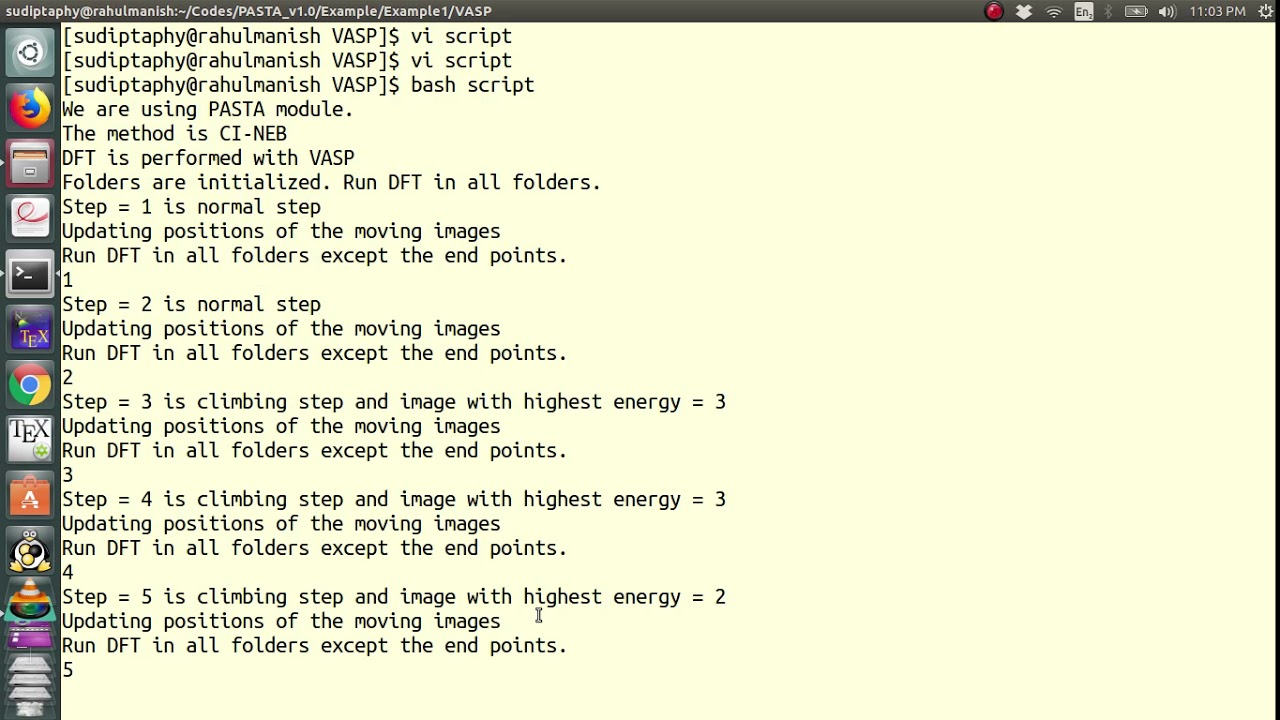 Vasp Output Files