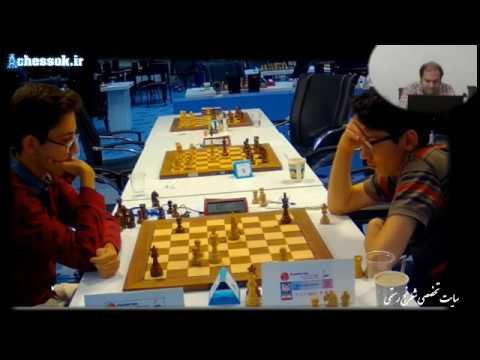 chessok.ir پخش زنده مسابقات شطرنج جام پایتخت دور هشتم