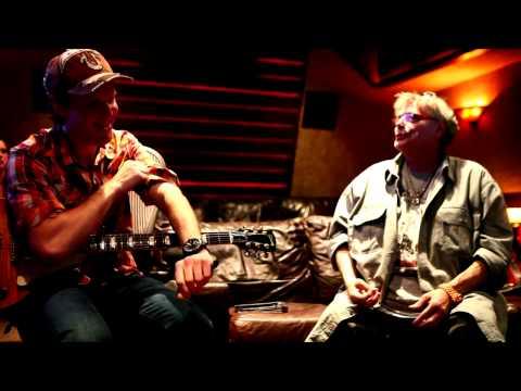 Leslie West studio video with Joe Bonamassa trading guitar licks