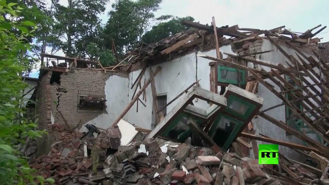 هزة أرضية تضرب إندونيسيا  - نشر قبل 3 ساعة