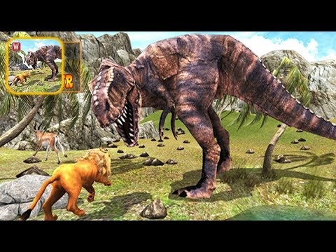 Lion vs Dinosaur Adventure 3D - Android Gameplay |Newbie Gaming