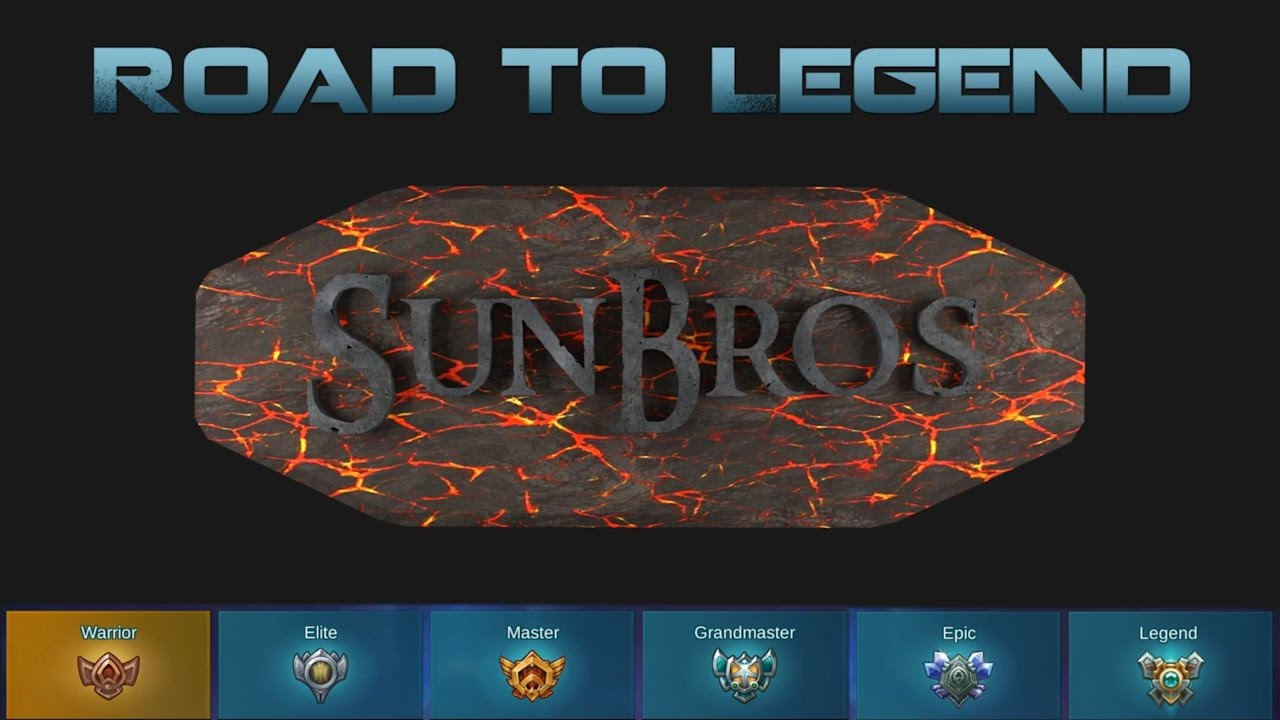 Road To Legend Episode 19 Mobile Legends Mvp Dominating Victory Youtube