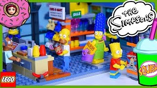 lego simpsons kwik e mart build review silly play part 2 kids toys