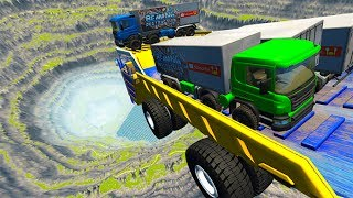 Leap Of Death Car Jumps & Falls #15 BeamNG drive