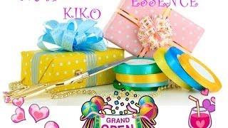 Super Giveaway NYX KIKO ESSENCE ACCESSORI Chiusooooo