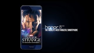 Honor 8, the world's most magical smartphone