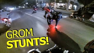 LATE NIGHT ADVENTURES ON THE GROM!