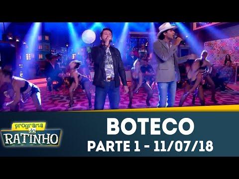 Boteco do Ratinho - Parte 1 | Programa do Ratinho (11/07/2018)