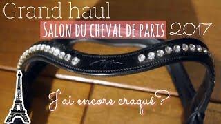 Video [ HAUL ] salon du cheval de Paris 2017😳 download MP3, 3GP, MP4, WEBM, AVI, FLV Oktober 2018