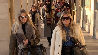 EXCLUSIVE : Sylvie Meis go to Angelina with a friend in Paris