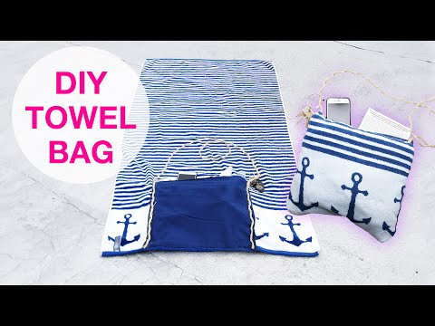 2-In-1 Beach Towel Tote