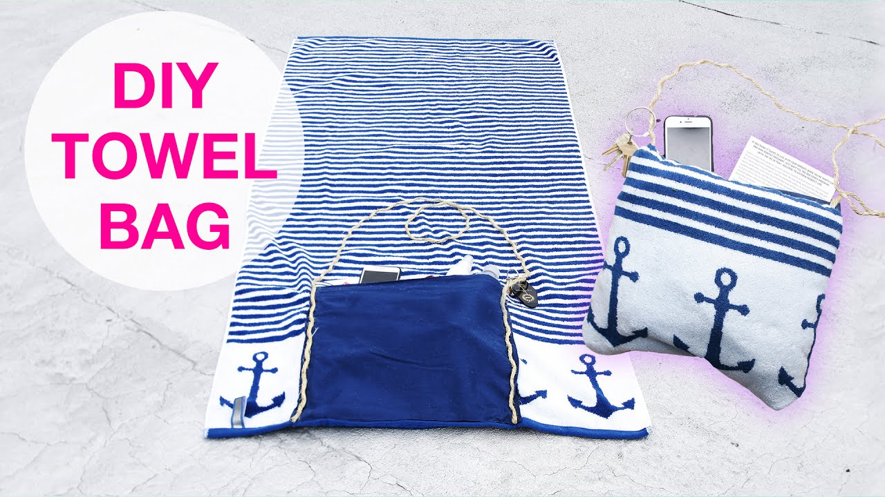 2-In-1 Beach Towel Tote - YouTube