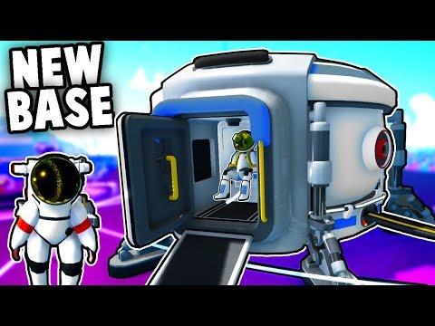 EPIC Space Base!  NEW Base Building & Habitat Update in Astroneer!  (Astroneer Multiplayer Gameplay)