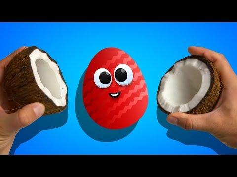 Сборник видео - Яйца Сюрприз. Обзор игрушек Барбоскины, игрушки Смешарики и другие герои