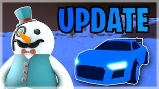 JAILBREAK WINTER UPDATE NEXT WEEK!! | NEW AUDI CAR COMING?! | 🔴 ROBLOX LIVE
