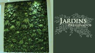 Jardim Vertical Preservado do Edifício Humanari