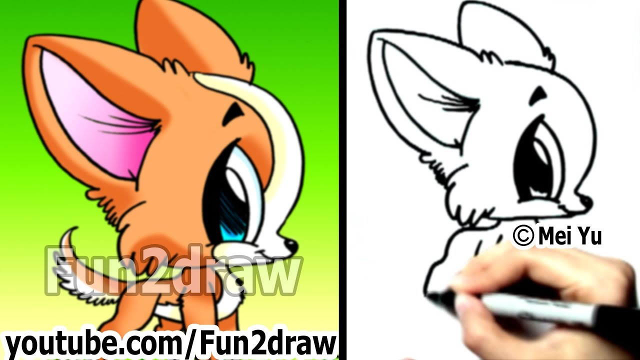 How To Draw A Dog Chihuahua Puppy Fun Things To Draw Cute Art Fun2draw