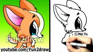 How to Draw a Dog - Chihuahua Puppy - Fun Things to Draw - Cute Art - Fun2draw