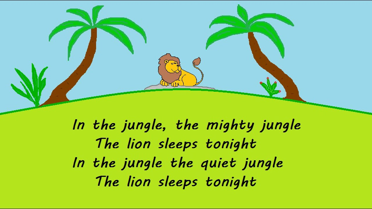 In The Jungle The Mighty Jungle Real Mountain Lyrics Youtube