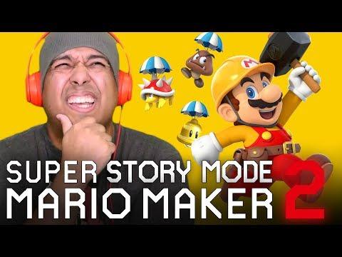 WE BEAT STORY MODE!!!  [SUPER MARIO MAKER] [STORY MODE] [#03] [ENDING]