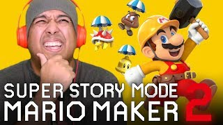 WE BEAT STORY MODE!!!  [SUPER MARIO MAKER] [STORY MODE] [#03] [ENDING]