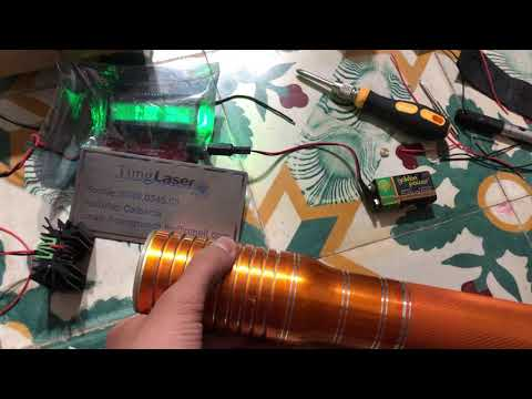 4.6W Green Laser Handle Powerful 1st In The World