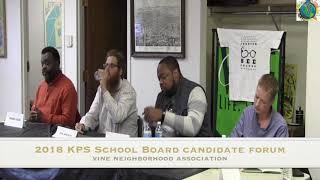 Question 9 KPS School Board Forum
