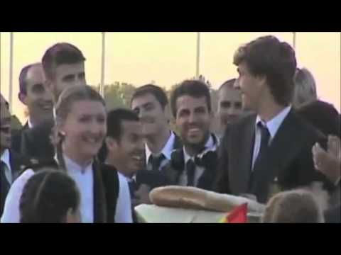 España National Football Team!!! ' Funny Moments '