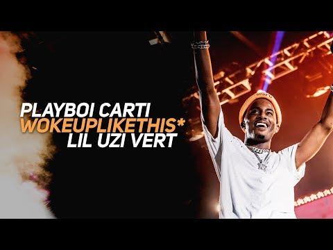 LIL UZI VERT X PLAYBOI CARTI 'WOKE UP LIKE THIS' LIVE AT ROLLING LOUD BAY AREA