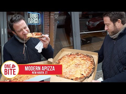 Barstool Pizza Review - Modern Apizza (New Haven,CT)