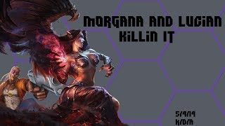 Morgana and Lucian mmmmmm // No Commentary