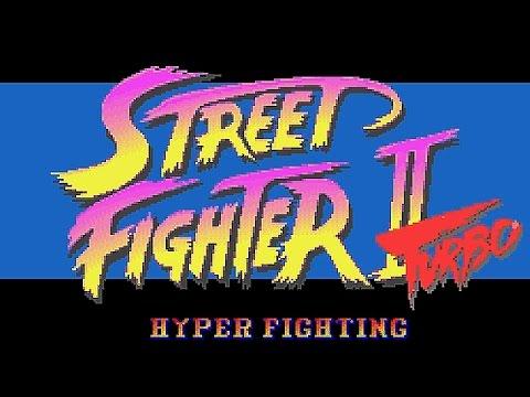 Snes Street Fighter 2 Turbo Cheat Hyper Turbo Youtube