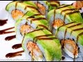How To Make An American Dream Sushi Roll
