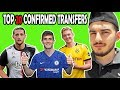 TOP 20 CONFIRMED TRANSFERS SUMMER 2019 | Ft GRIEZMANN, HAZARD, JOAO FELIX, DE JONG