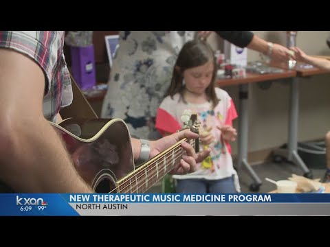 Hospital launches music therapy program for children