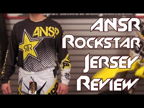 Answer Rockstar Jersey Review from Sportbiketrackgear.com