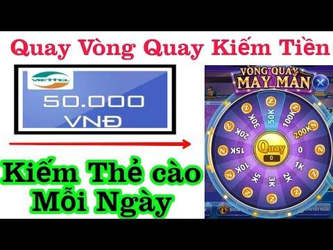 Top 3 Ứng Dụng Quay Vòng Quay Máy Mắn Kiếm Tiền Online Uy Tín Nhanh Nhất 2019. Đã Rút