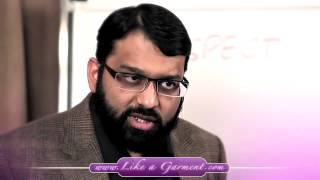 Women really need to know the true Respect of men. By-Yasir Qadhi.
