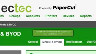 How to setup Email to Print in PaperCut