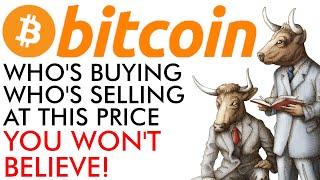 Bitcoin - You Won't Believe Who's Buying & Selling At This Price! [explained]