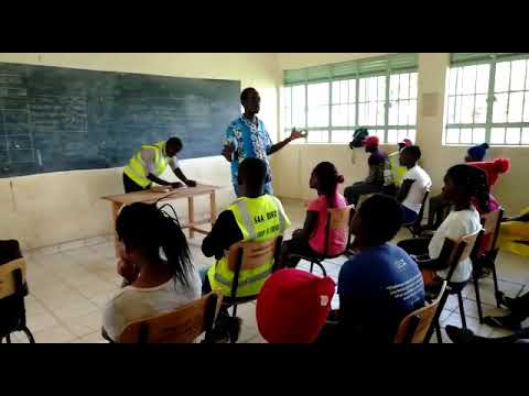 peer counselling at Soweto school
