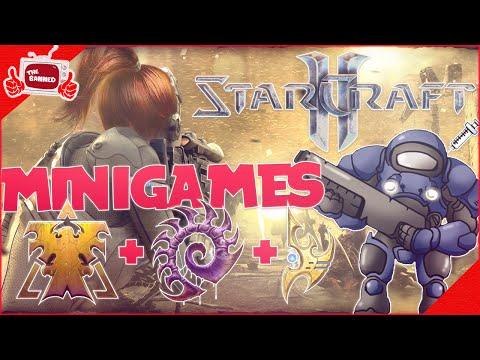 AIUTOO!!! - STARCRAFT 2 MINIGAMES!! Gameplay / Funny Moments ITA