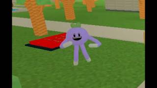 Weird violet Things in Roblox :D :D