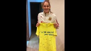 Entrevista a Carol González en su visita al Balaidos CF Femenino