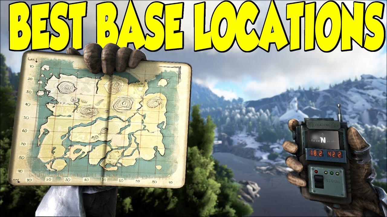 Superb Ark Survival Evolved Best Base Locations 3   YouTube